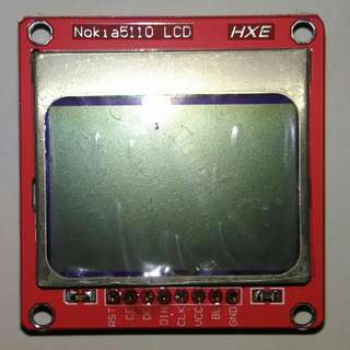 Nokia 5110 LCD with White Backlight Module
