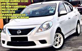 SAMBUNG BAYAR NISSAN ALMERA 1.5 AUTO