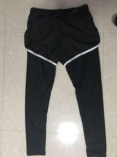 Pro sports 94% polyester 6% spandex size Asian L