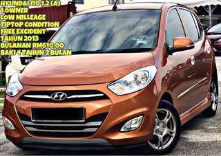 SAMBUNG BAYAR HYUNDAI I10 1.2 AUTO