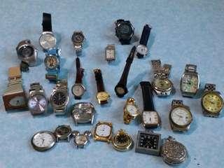 舊電子錶 27隻