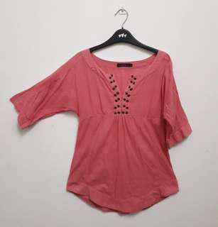 #MFEB20 Nichii Pink Blouse