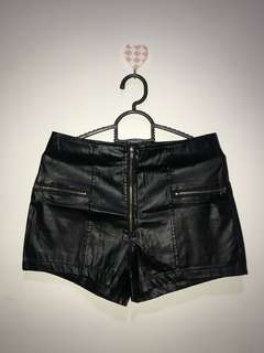 Leather Hotpants