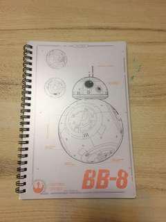 Star Wars 筆記本