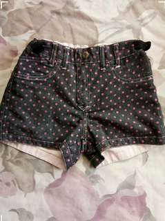 Fresh gear Reversible shorts for girls