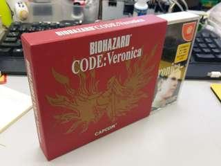 Sega biohazard veronica box set