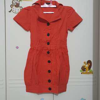 💕 Promo orange dress