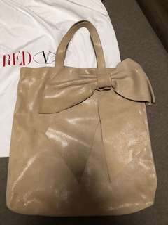 Authentic Red Valentino Bow Shoulder tote bag
