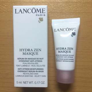 Lancôme Hydra Zen Overnight Serum-In-Mask 舒緩抗壓保濕睡眠面膜