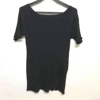 🚚 (Clearing) Imoda Black Knit Top
