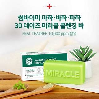 🇰🇷Authentic! Some by mi 30days Miracle Cleansing Bar