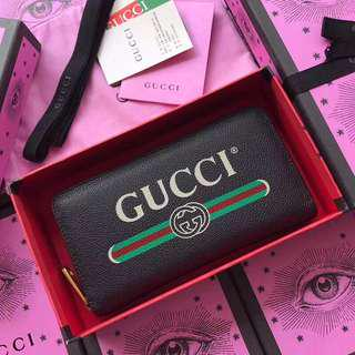 Gucci NEW DESIGN long wallet zippy