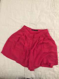 Zara Basics Formal Shorts