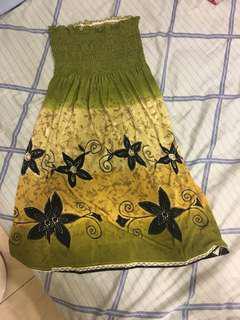 🚚 綠洋裝
