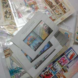 Singapore Assorted Mixed Mint Stamps $100 Worth For $90