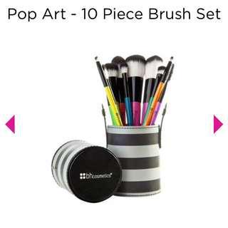 BH Cosmetics Pop Art Brush Set