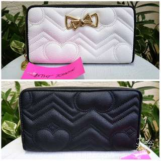 BNWT Betsey Johnson Quilted Wallet