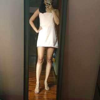 Blush Georgette Mini Dress