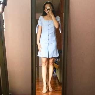 Classy Chambray Dress