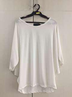 Willow Cream White Top