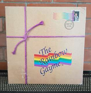 The Rainbow Gayme Board Game