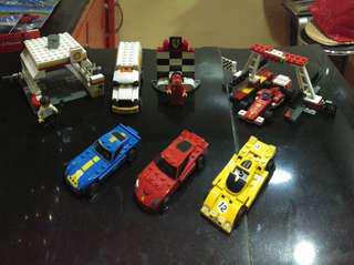 Limited Edition Shell Lego Ferrari Cars/Set