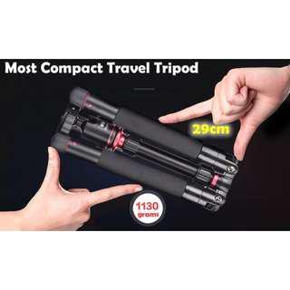 Nimble NB238 Lightweight Compact Professional Travel Tripod