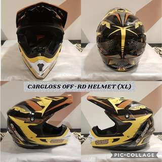 CARGLOSS OFF ROAD HELMET