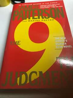 9th judgment by James Patterson