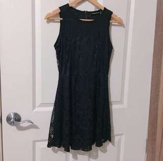Black Lace Dress by Something borrowed