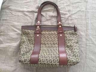 Fendi Zucca Bag