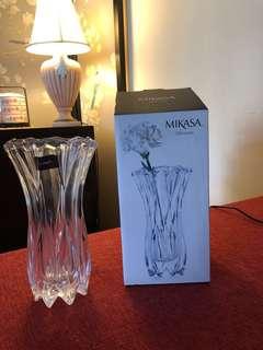 Crystal vase #mikasa
