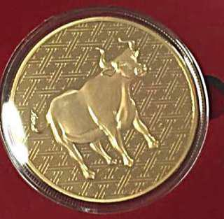 Marina Bay Sand Gold Coin-Year Of The Cow