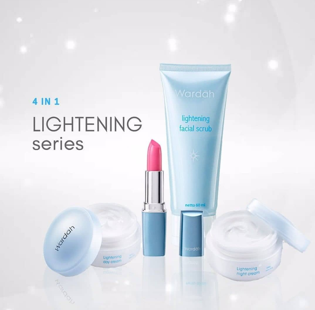 4in1 Wardah Lightening Packet Health Beauty Face Skin Care On Facial Mask 60ml Carousell