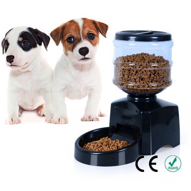 5 Litre Automated Pet Feeding Machine For Dogs Cats Rabbits