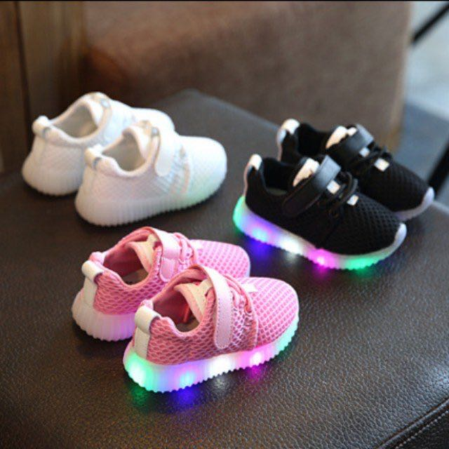 8895ce20eba191 ... Baby Shoes Kids Shoe Baby And Kids Converse Shoes with Colourful LED  Lights Baby Shoes Baby ...