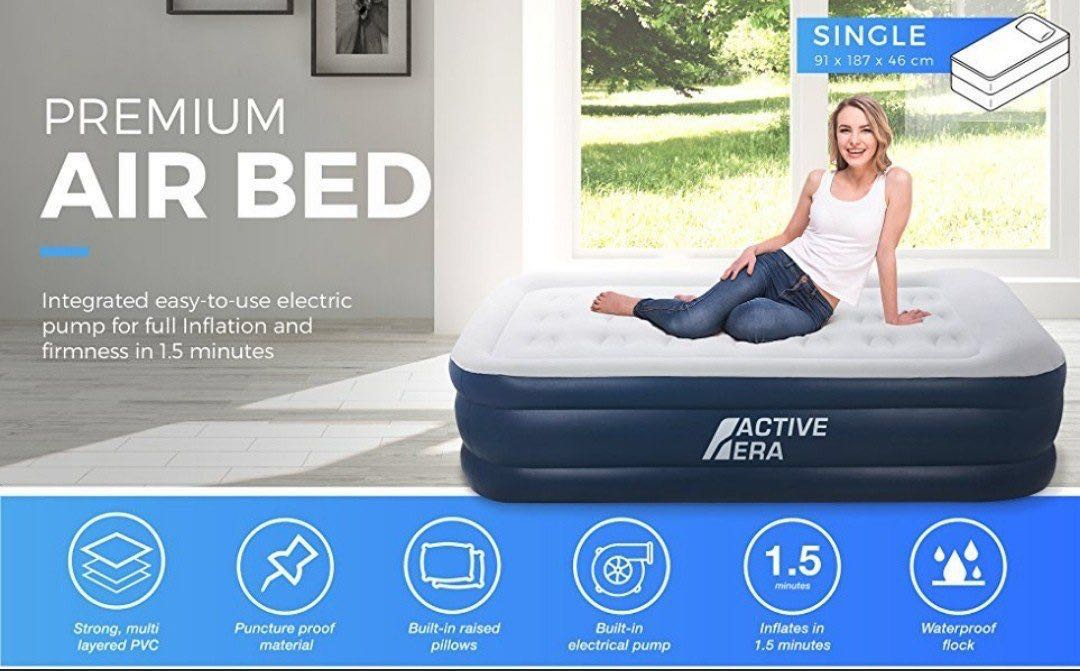 20e1b6f17fd Active Era Inflatable Air Bed w  Built-in Pump (queen)