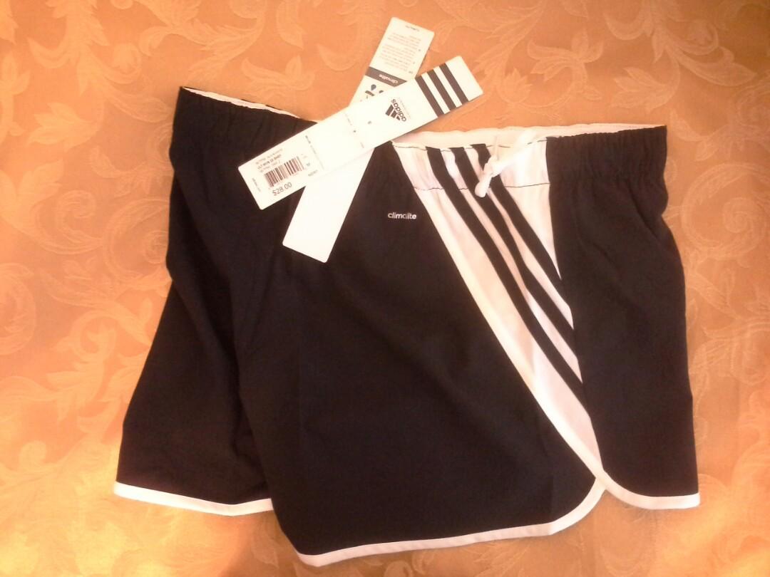 Adidas Climalite women's size M Ultimate woven 3 stripe