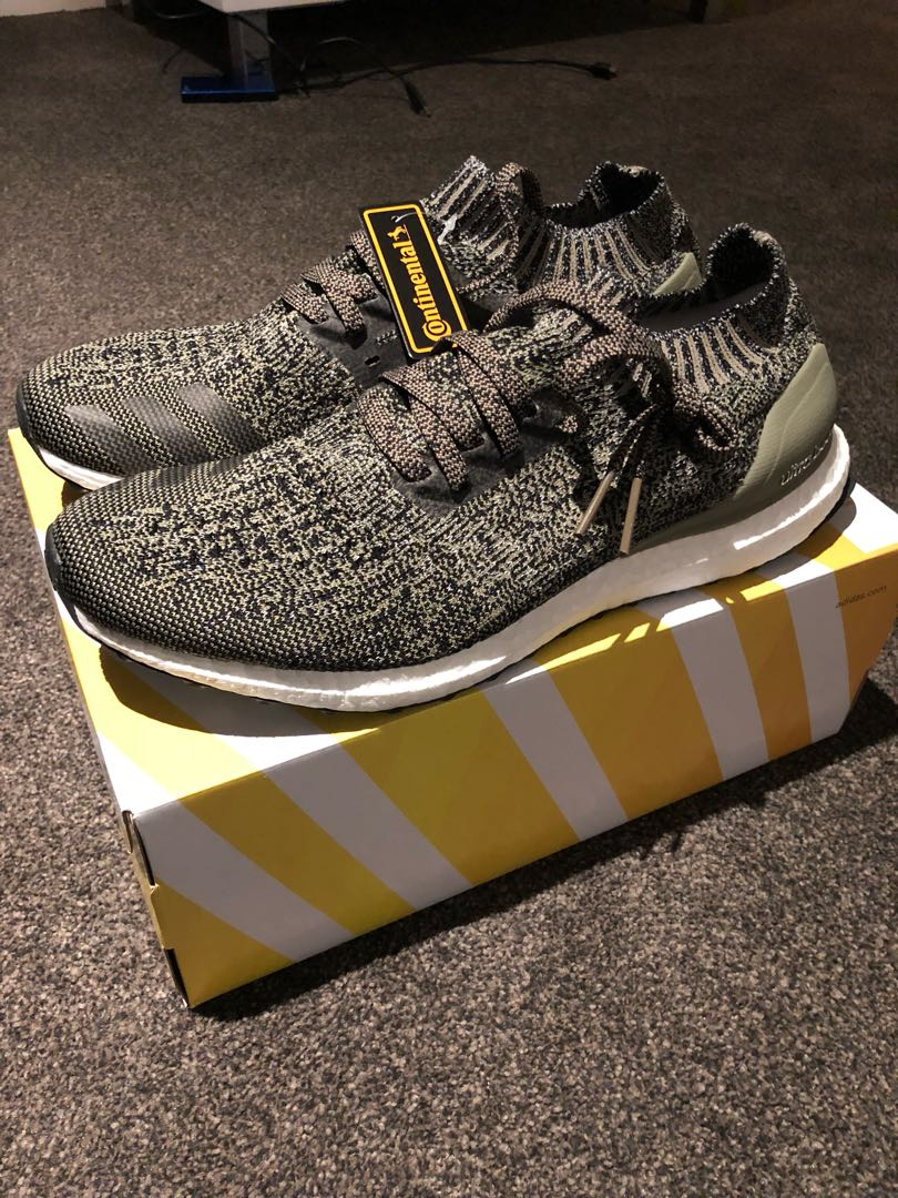 b75879d0e Adidas ultraboost uncaged trace cargo grey gray olive green