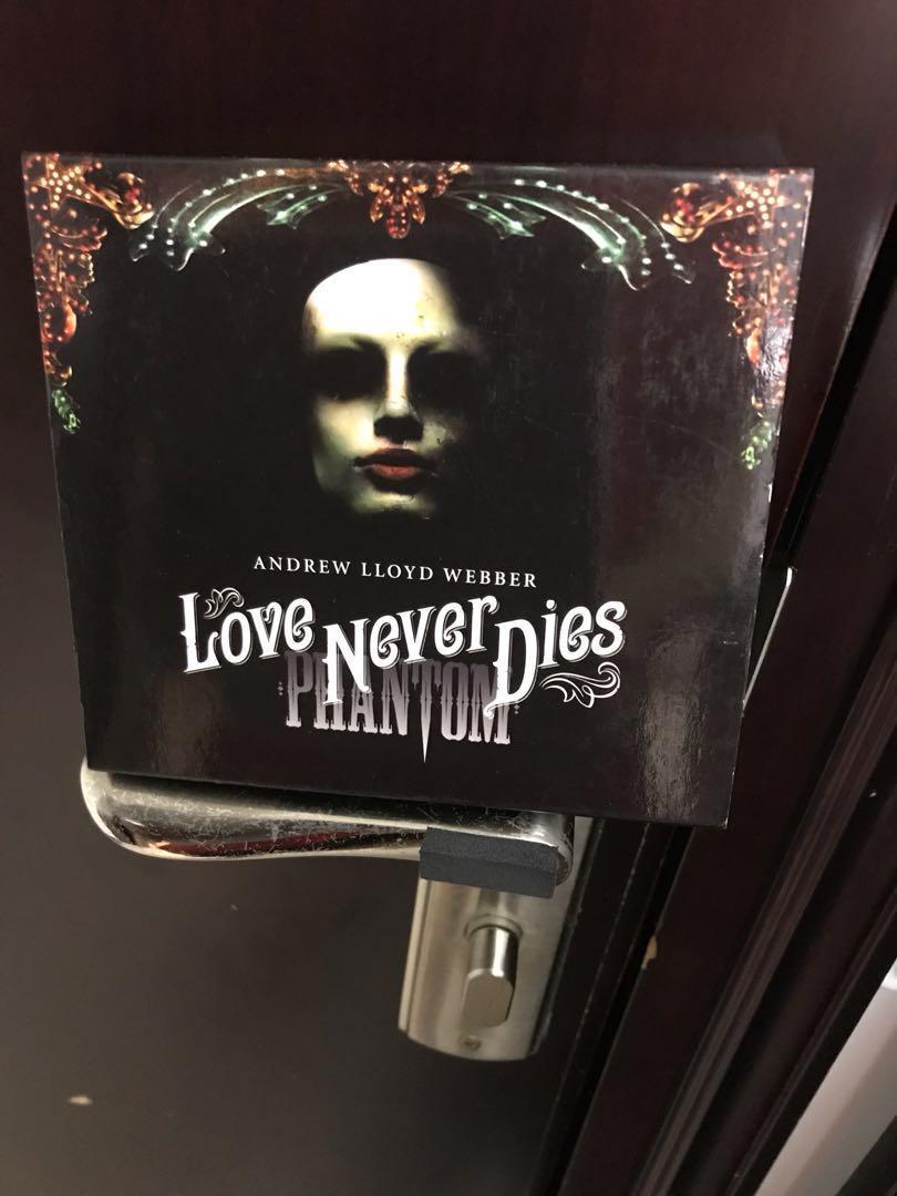 Andrew Lloyd Webber Love Never Dies 2CD and 1DVD