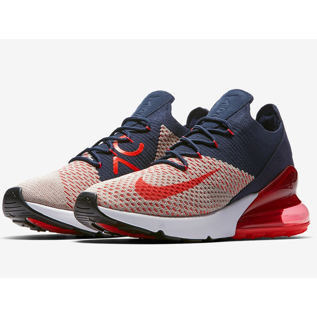 e0ea5d5143 Authentic Nike Air Max 270 Flyknit USA, Women's Fashion, Shoes, Sneakers on  Carousell