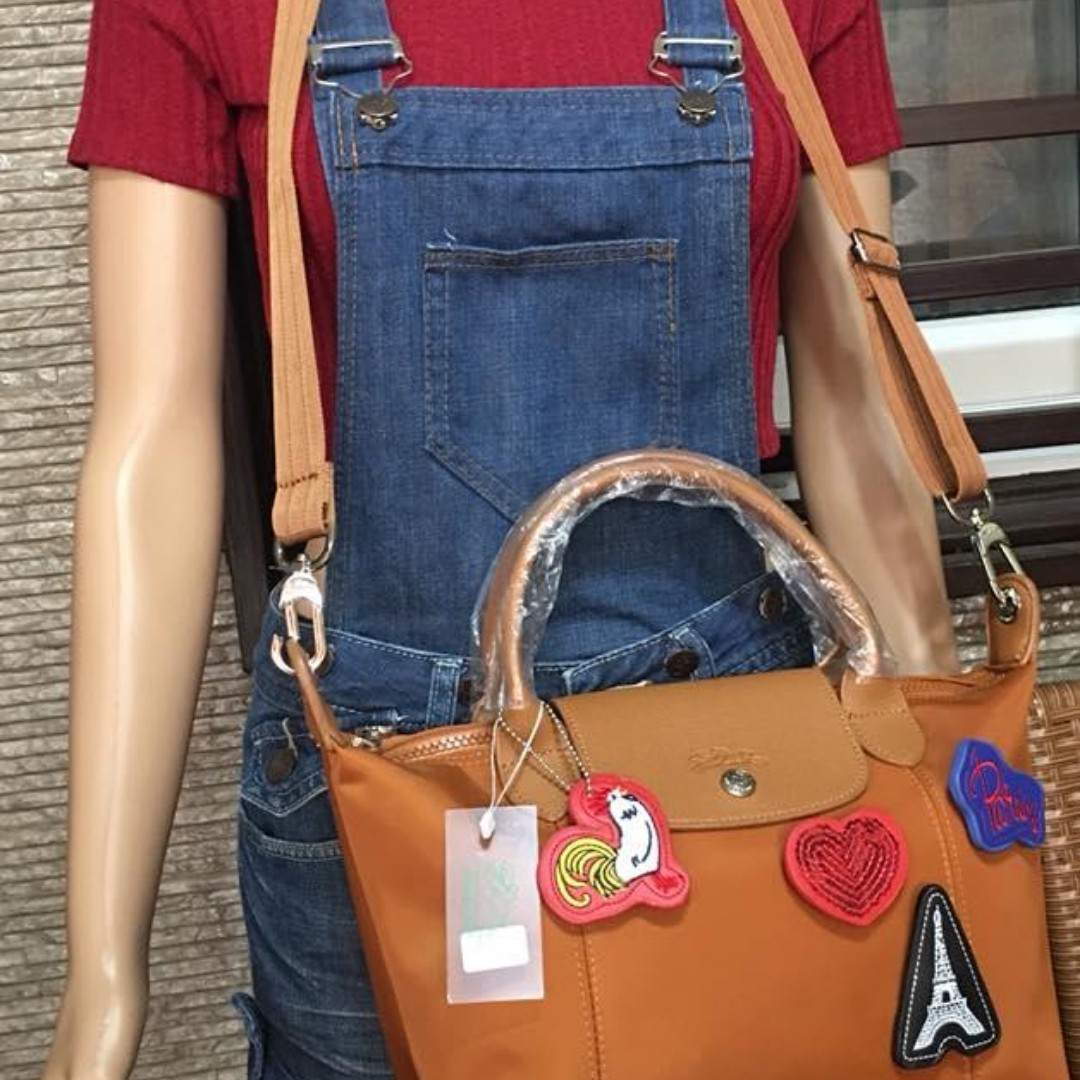 Authentic quality Longchamp Neo Bag with Detachable Patches from ... 5372ac5b981e9