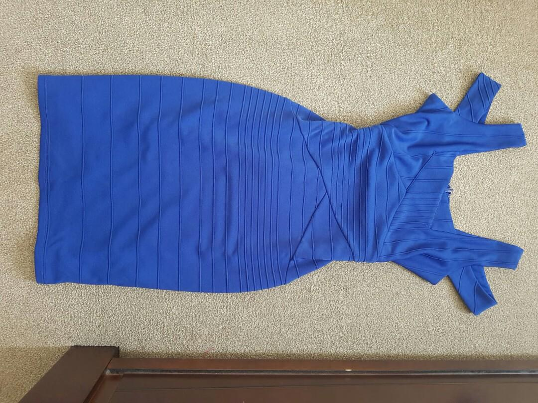 Bariano blue dress