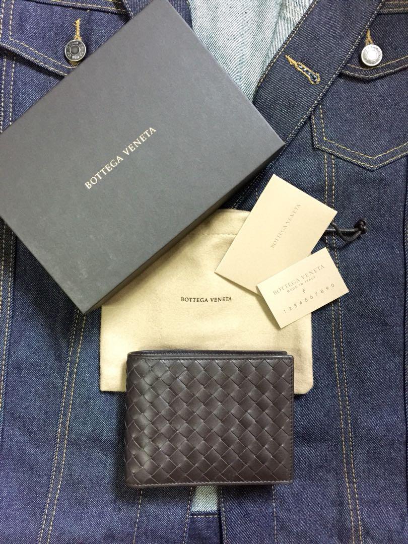 Bottega Veneta Intrecciato VN Wallet in Espresso, Men s Fashion ... c4c4d4c075