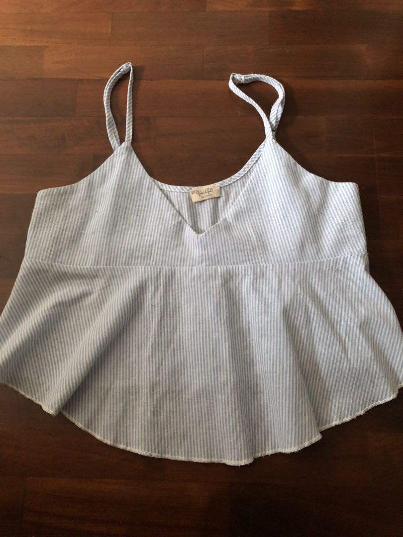 55ba25b6f Brandy Melville tank, Women's Fashion, Clothes, Tops on Carousell
