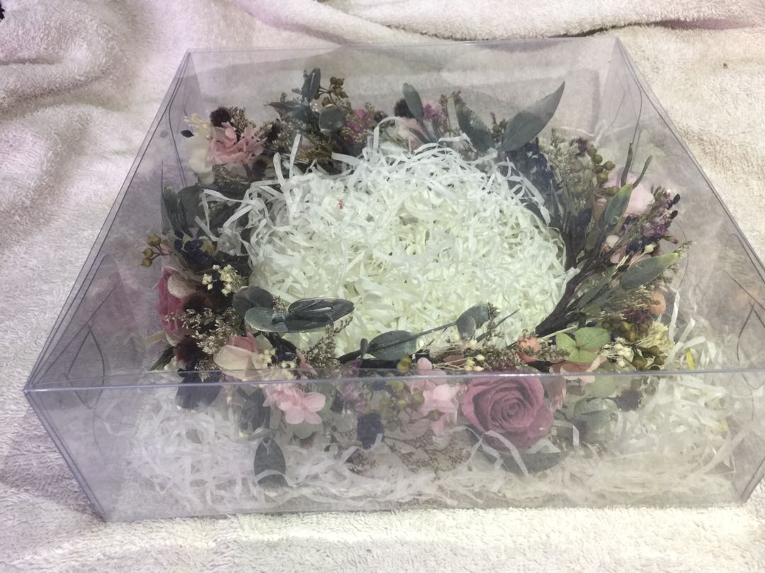 Bridal preserved flower crown real flower design craft share this listing izmirmasajfo