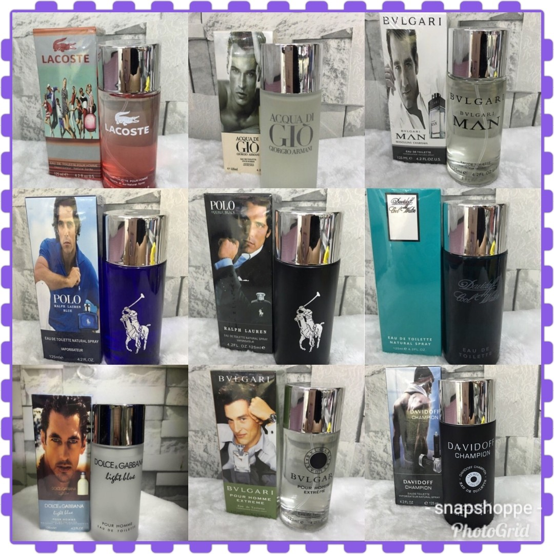 Class A Imported Singapore Made Perfume For Men 125 Ml Health Parfum Singapur Bvlgari Man Beauty Perfumes Nail Care Others On Carousell