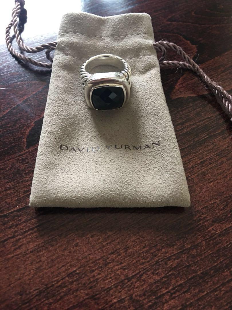 David Yurman Albion Ring 14mm Black Onyx
