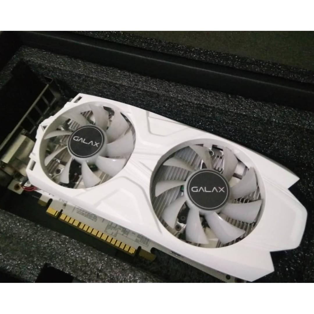 GALAX GeForce® GTX 1050 Ti EXOC White