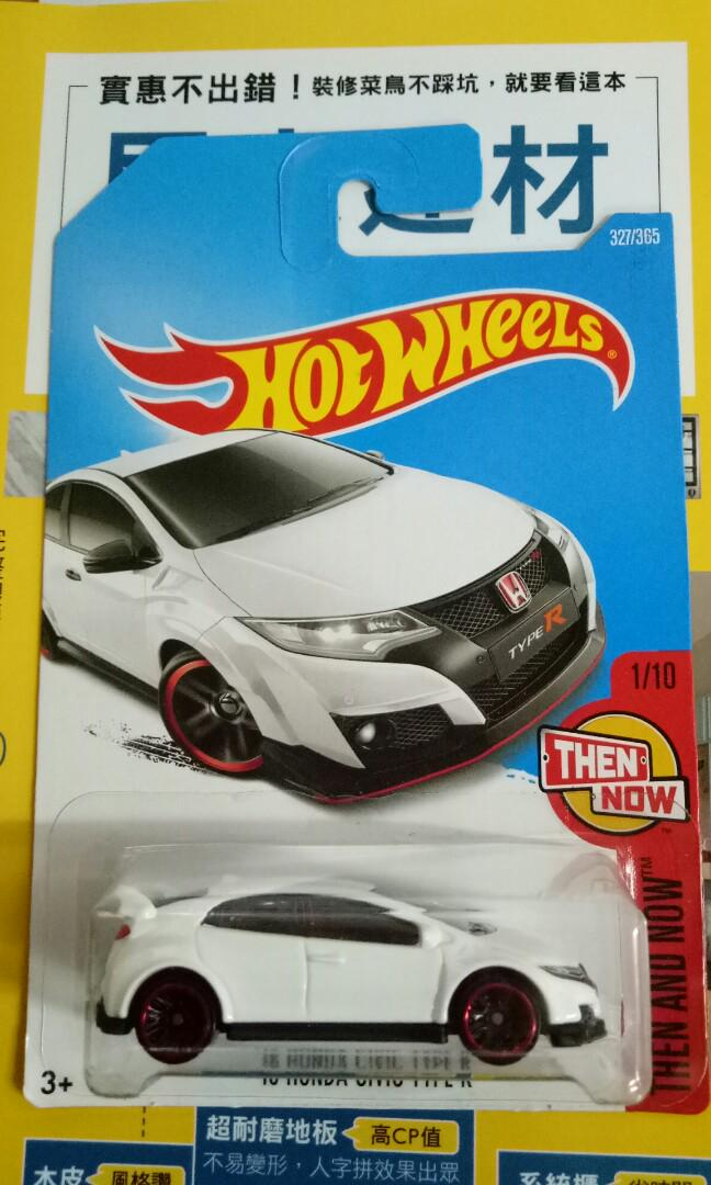 Hotwheels Honda Civic FK2
